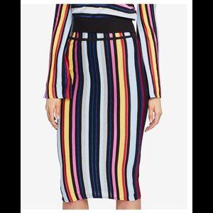 🆕NWT 🎉Rachel Roy whimsical rainbow striped skirt